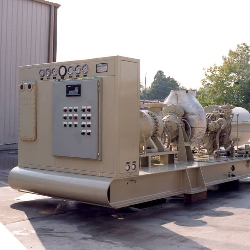 An anti-surge compressor with controls from Petrotech in the Middle East