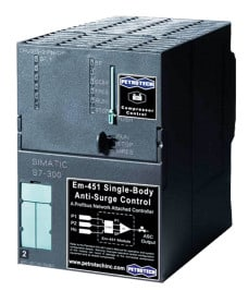 Em-451 Single-Body Add-on Anti-Surge Compressor Controller provided by Petrotech