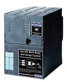 Em-452 Multi-Body Add-on Anti-Surge Compressor Controller provided by Petrotech