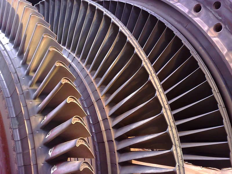 Gas turbine used by Petrotech in North America, Europe, and Middle East