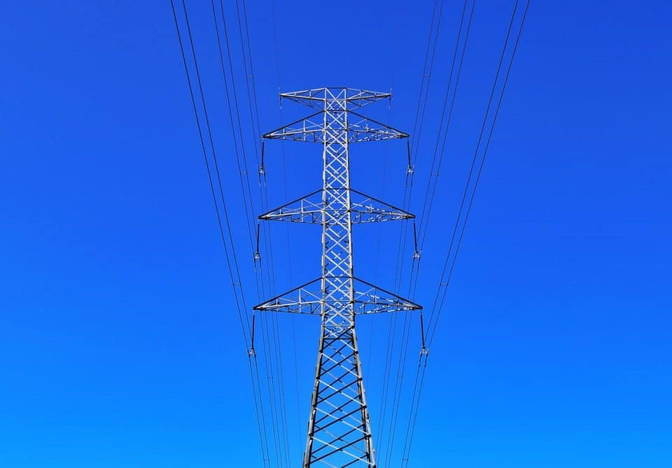 A large power line